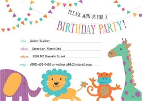 Essay on a special birthday party invitations